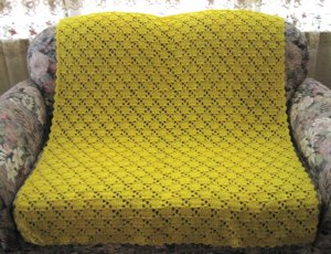 Mellow Yellow Throw