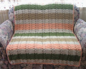Neapolitan Ice Cream Afghan