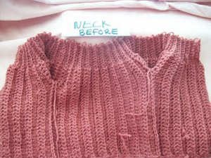 One Piece Baby Sweater