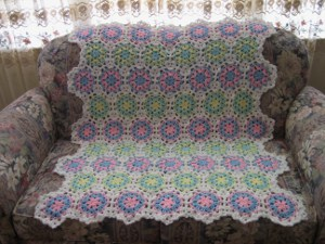 Peppermint Candy Afghan