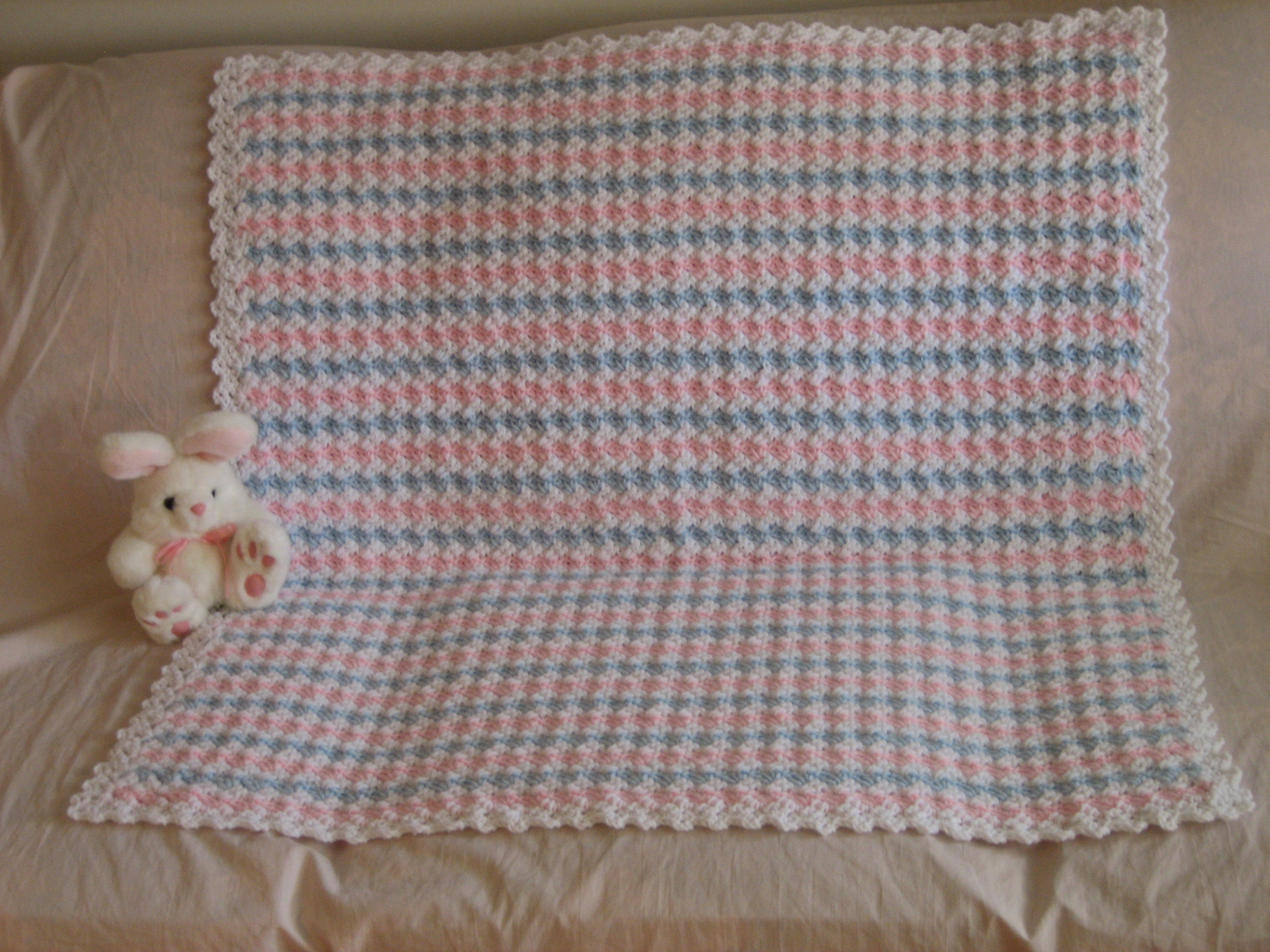 Pretty And Puffy Crochet Afghan Favecrafts