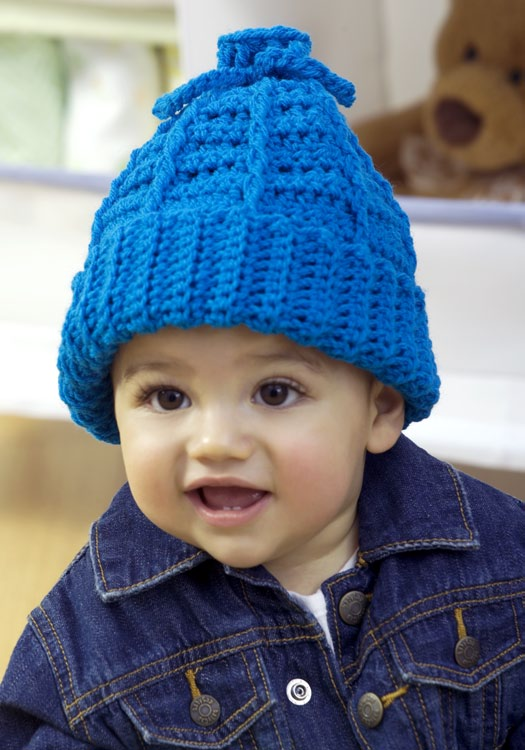 Stretchy Kid\'s Hat Crochet Pattern | FaveCrafts.com