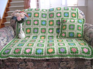 The Flowers of Spring Afghan