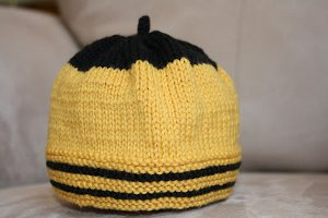 sweet as honey bumble bee hat