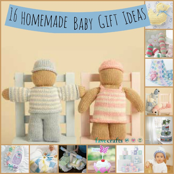 16 homemade baby gift ideas favecrafts 16 homemade baby gift ideas negle Images