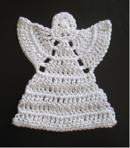 decoration for the tree these free crochet angel patterns also make fantastic christmas gifts materials - Crochet Angel Christmas Tree Decorations