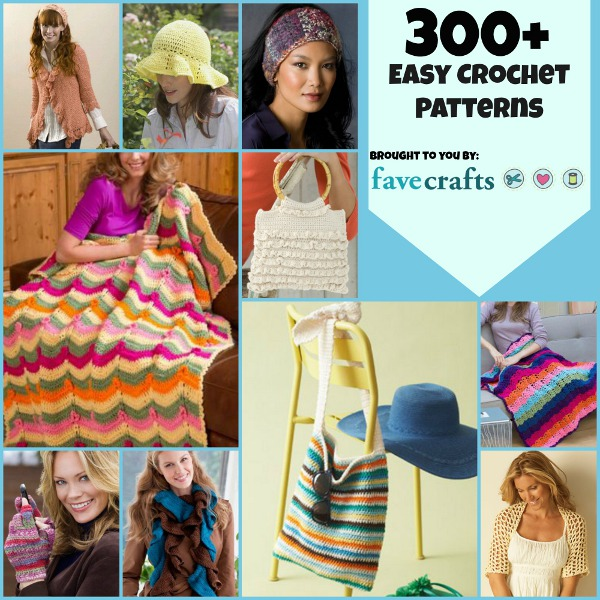 372 Easy Crochet Patterns: The Ultimate Crochet Guide | FaveCrafts.com