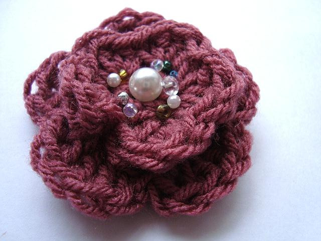 Crochet Flower Embellishment