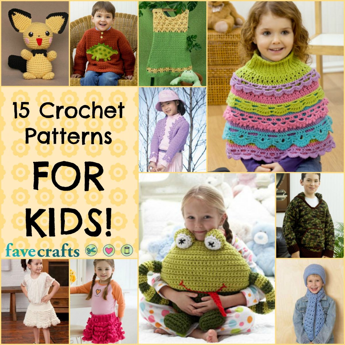 Crochet Patterns for Kids