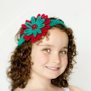 Tropical Tea Crocheted Headband