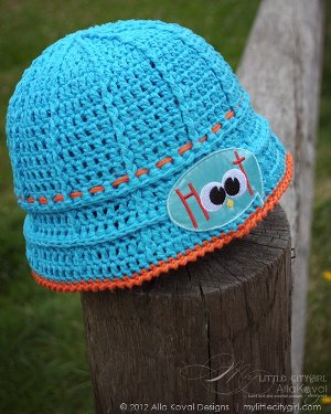 cute hoot hat