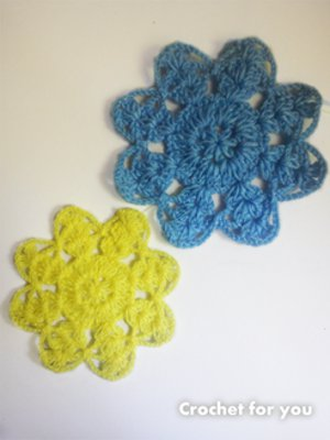 Grandma's Magic Crochet Flowers