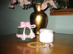 Crochet Jewelry Jar
