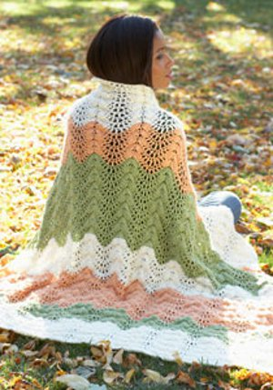 Melon Ripple Afghan Favecrafts