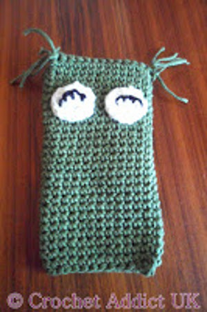 Owl Phone Cozy