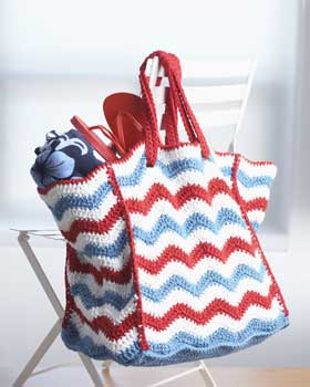 Patriotic Ripple Bag