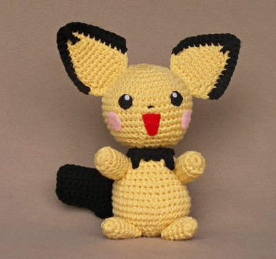 Pokemon Pichu Plush Crochet Pattern Favecrafts