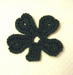 Easy Crochet Clover