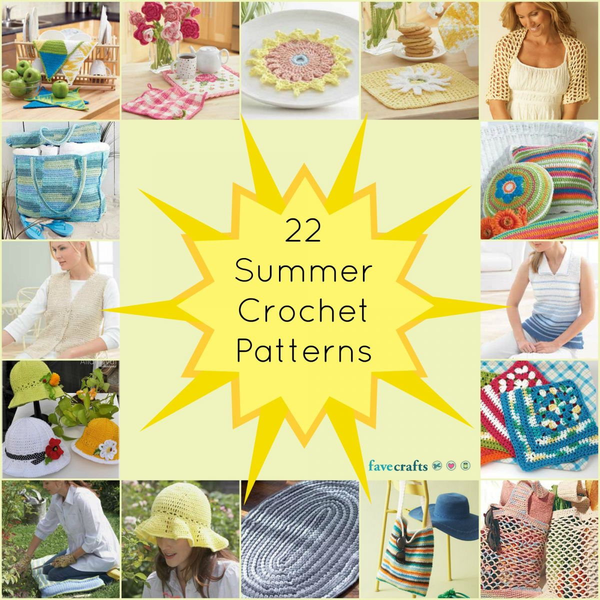 22 Summer Crochet Patterns