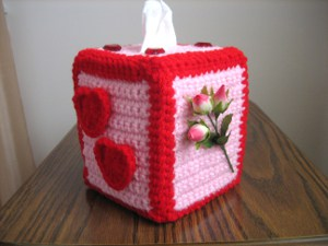 full of love tissue box cover