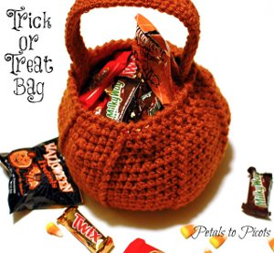 Pumpkin Candy Bag