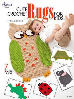 Cute Crochet Rugs for Kids