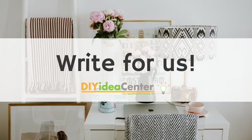 Write for DIY Idea Center