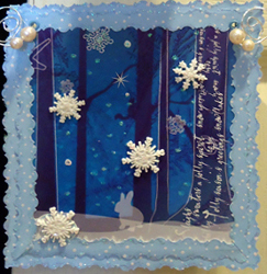 Tissue Box Winter Door Hanger