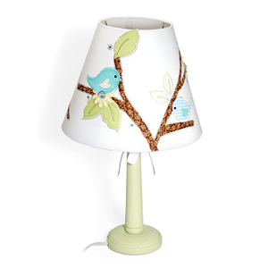 Bird and Branch Lamp Shade