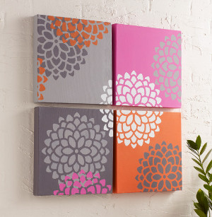 Lovely Blooming Wall Art