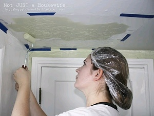 Ceiling Stenciling Tutorial