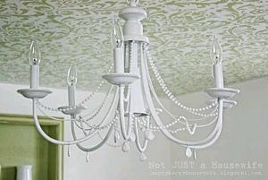Diy chandelier favecrafts diy chandelier aloadofball Image collections