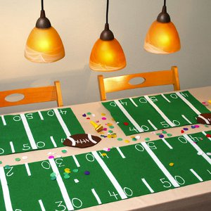 Football Party Tablecloth