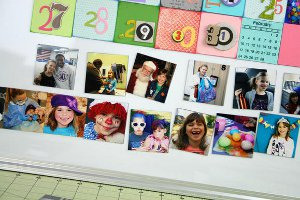 Magnetic Family Calendar