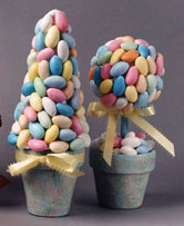 Pastel Candy Dream Topiary Trees
