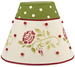 Retro Rose Lampshade