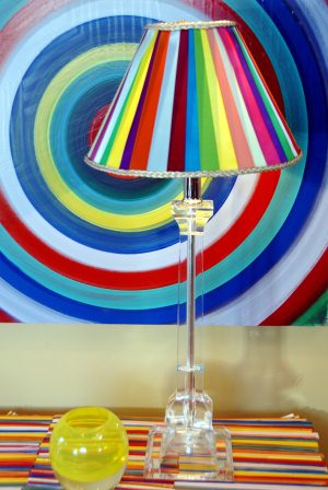 Scrap Ribbon Lamp The Hardest Part Of Most Projects Is Gathering Materials Make That Step Easy By Using To Decorate A