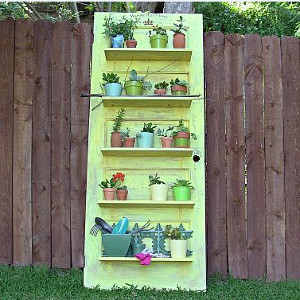 Stylish Planting Shelf