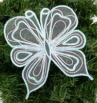 Tulle Butterfly Applique