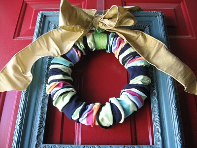 Dollar Store Wreath