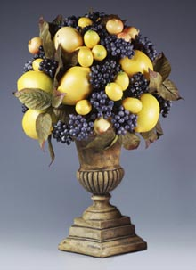 Blueberries and Lemons Centerpiece