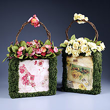 Floral Purse Decorations