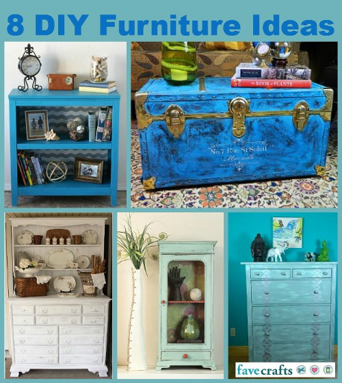 8 DIY Furniture Ideas