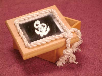 Sailors Embellished Jewelry Box