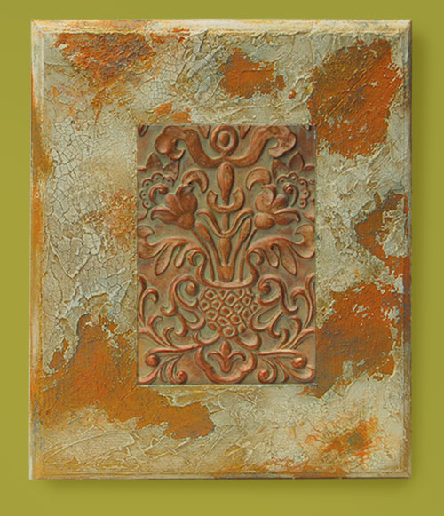 Textured Antique Wall Frame