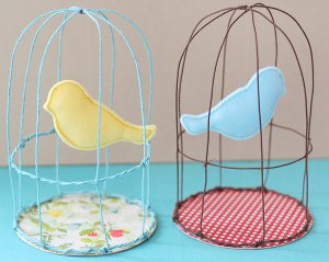 Whimsical Spring Birdcages