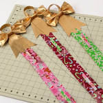 Duck Tape Ribbon Card Holder