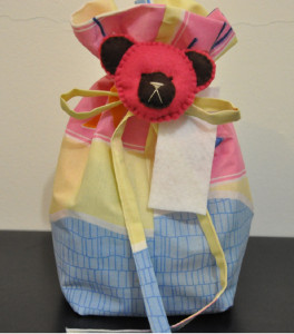 Fabric Gift Bag for Baby