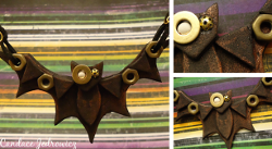 Spooky Bat Necklace
