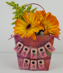 Celebrate Spring Flower Basket